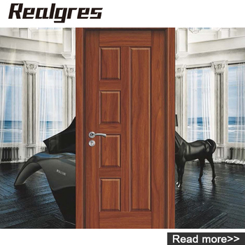 Ds 8001 Wooden Doors Men Painting Wood Glass Bedroom Steel Security - Bedroom-doors-painting