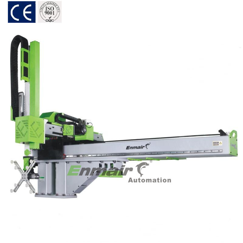 Plastic Industrial Open Full Servo 3 axis Robot Arm for Injection Molding Machine EHW-25 Series