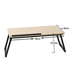NEW PORTABLE TABLE! Car Couch Bed Sofa Folding For PC Laptop Notebook Desk Stand Adjustable #217