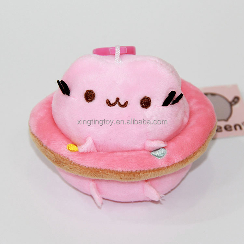 Cartoon Swimming Ring Pusheen 4inch Cute Doll Wholesale Plush For Toys