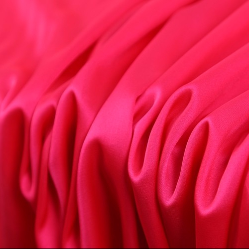 Factory soft woven frinted pure duchess satin silk stretch satin <strong>fabric</strong>