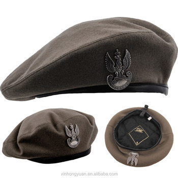 Wool Felt Army Military Beret Cap hat For Men - Buy Wool Felt Beret ... 868f4dbea23