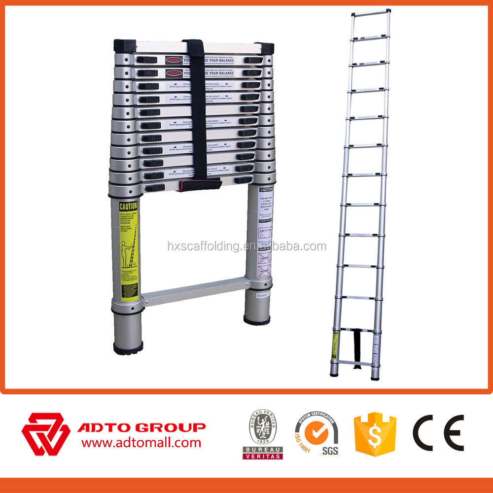 Price aluminum step ladder,escalera de aluminio,compact adjustable quick folding step ladder