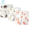 Happyflute organic cotton Baby Blanket Muslin Swaddle Wraps Bamboo Blankets