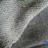 100 cotton french terry knitted fabric, french terry fabric