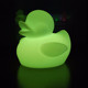 RGBW Rechargeable Wireless Control Decorative Duck Shaped Animal LED Table Lamp