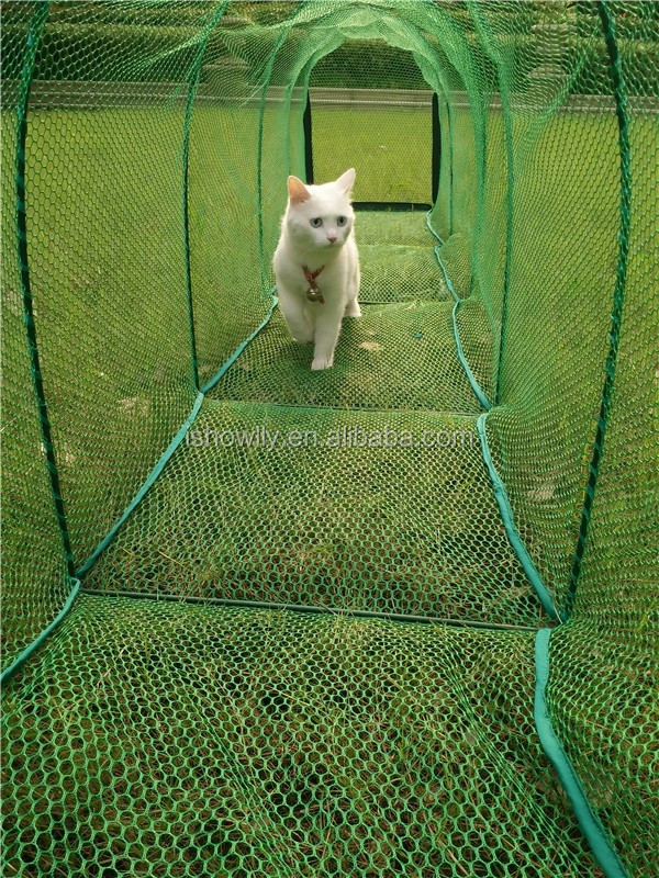 Outdoor Pet Training Tunnel Pet Mesh Tunnel Strong Cat