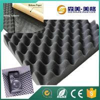 China exporter acoustic sound absorbing foam rolls deadening foam for walls