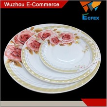 Factory OEM heat resistant opal glassware dinner set
