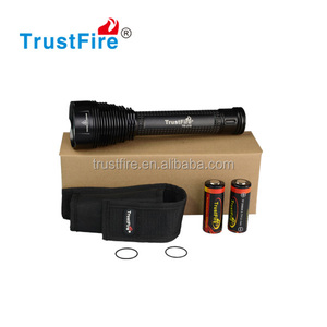 High Power Torch Light J18 xml t6 8000LM Led Flashlight for hunting