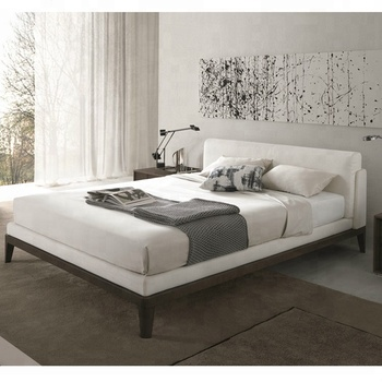 fancy bed design furniture wooden fabric bed