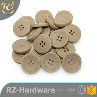 wholesale lacer custom logo brand resin buttons for baby DIY garment factory tradition company goods sewing