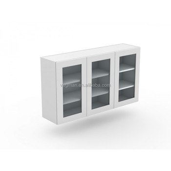 Good One Piece Kitchen Units Use For Wall Glass Cabinet