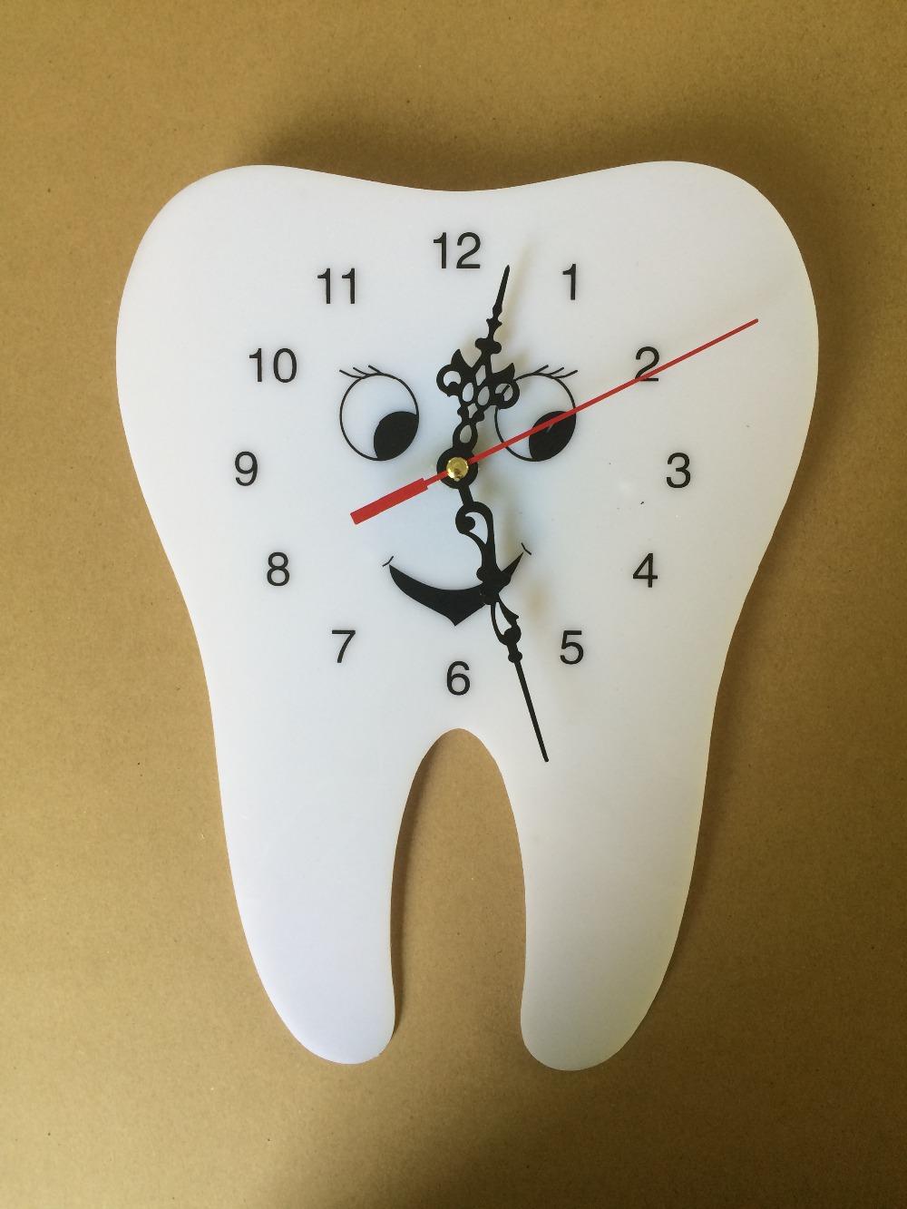 Diente Reloj Dental Reloj En Forma De Reloj De Pared