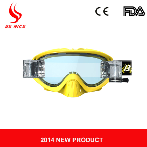 High quality super anti-fog PC lens profession mx goggles