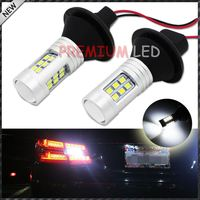 No Resistor Required Xenon White 21-SMD 3156 3056 T25 LED Bulbs For Euro Car Backup Reverse Lights (100% Error Free)