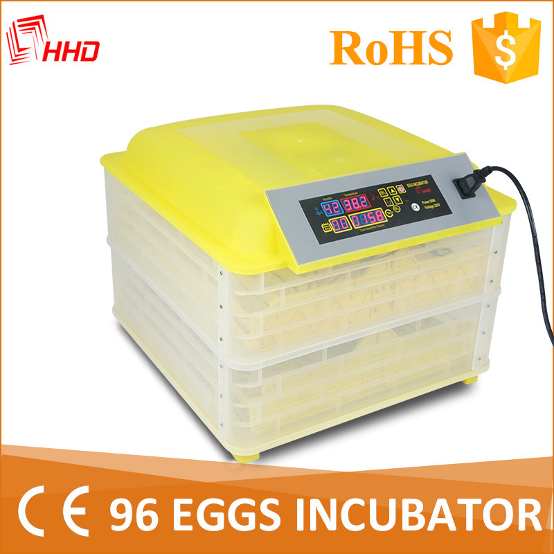 2017 The broiler hatching eggs machine for export with 96 eggs