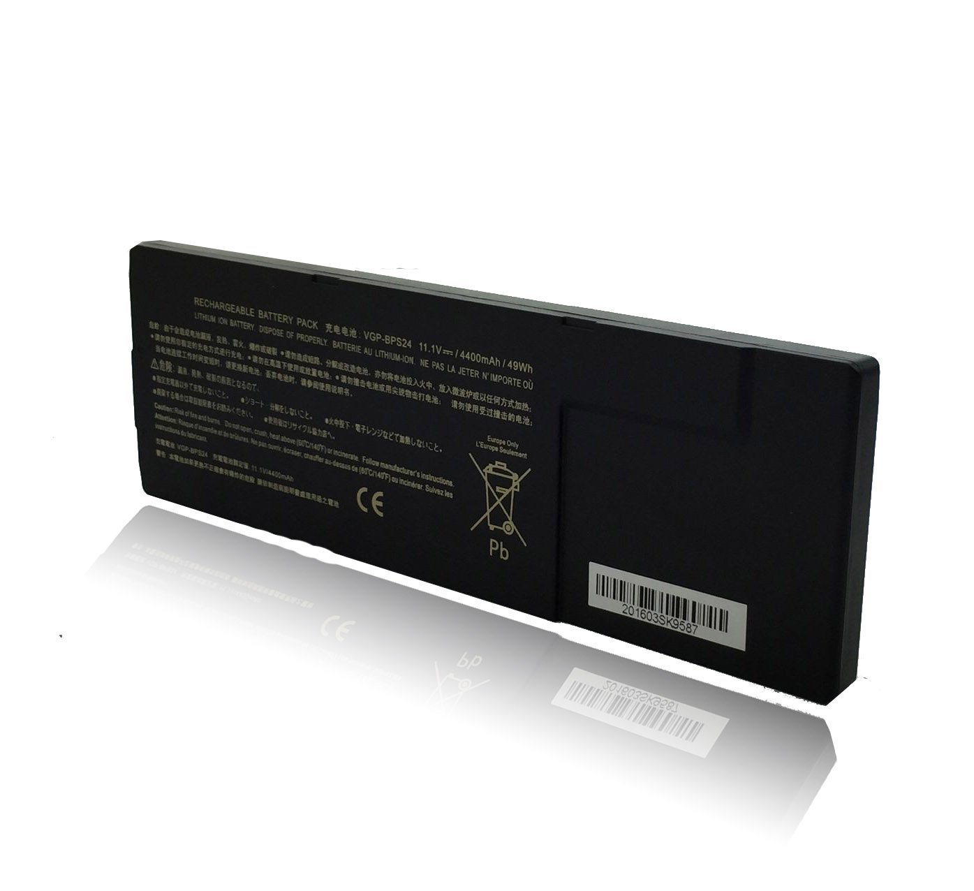 SKstyle Laptop Battery for SONY VAIO VGP-BPL24 VGP-BPS24 VGP-BPSC24 PCG-4121GL PCG-41411L PCG-41412L PCG-41413L PCG-41414L