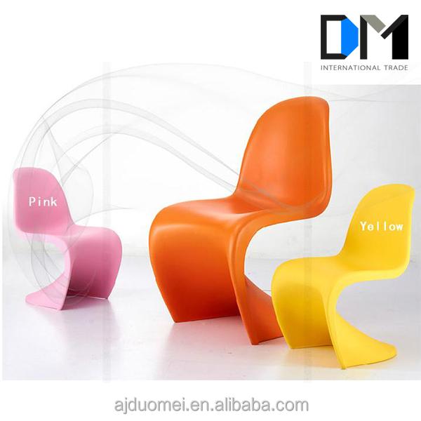 replica pantone plastic s vorm ergonomische stoel woonkamer, Deco ideeën