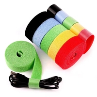 High quality hot sell color back to back cable tie/Hook&Loop Tie