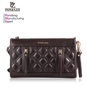 4966 PAPARAZZI brand name pu leather evening bags lady china clutch manufacturer