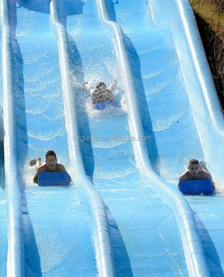 Tapis ou couverture de coureur de glissière d'eau de mousse d'eva utilisés pour le parc aquatique