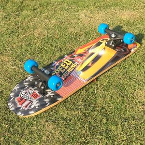 Big Wheel Sport Maple Veneer Skateboard, Bamboo Skateboard Decks Surf Longboard Skateboard