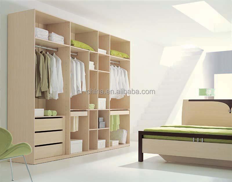 Wooden Wardrobe Cabinet Closet Sliding