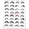 High quality custom package eye lash book