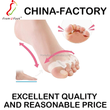 ZRWA05 2017 New arrivals silicone soft gel toe separators bunion Foot care hallux valgus correction toe pad
