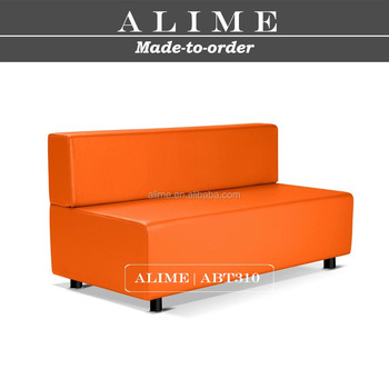 ALIME ABT310 custom modern leather booth seating sofa low back, View booth  seating sofa, ALIME Product Details from Jiangmen Alime Furnishings Co., ...
