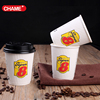 dome lid custom coffee paper cup designs