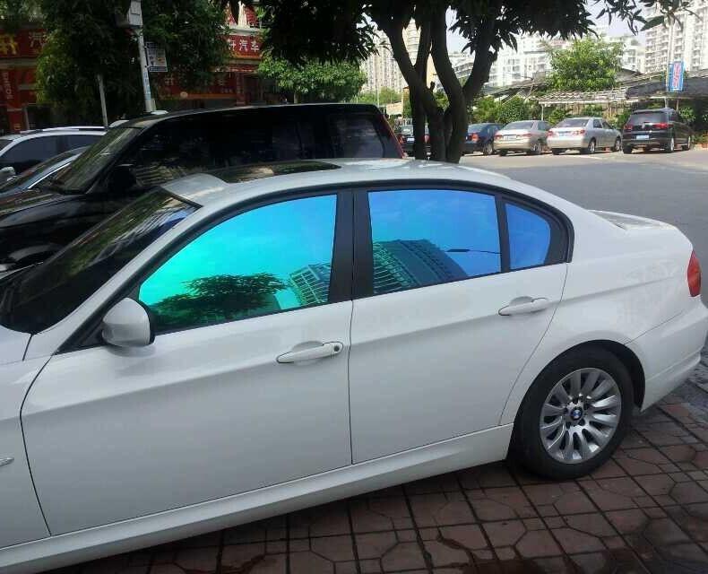 China Nano Window Films Color Change Car Tint Car