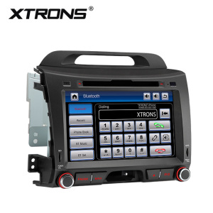 "XTRONS PF81SPKS 8"" can bus touch screen car dvd gps for kia sportage, car stereo for sale, cars for kia"