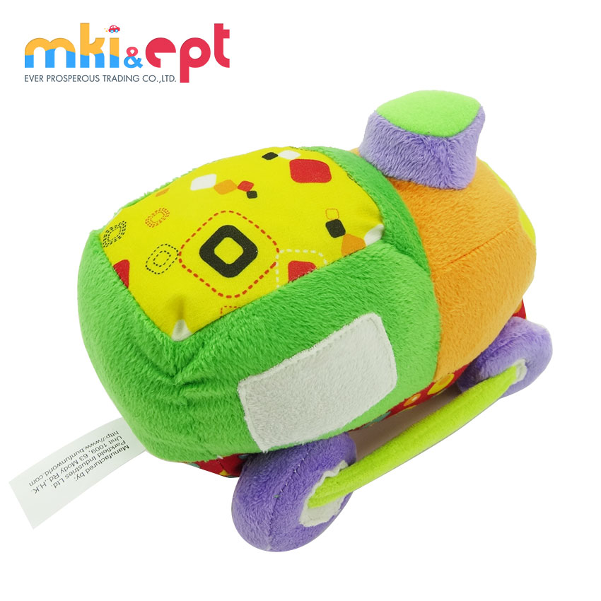 2017 High quality safe baby soft toys plush stuffed toy car for sale