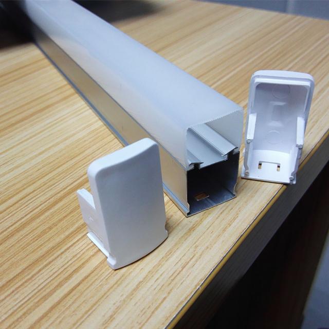 thin thickness of aluminum heatsink T5 integration led tube light housing