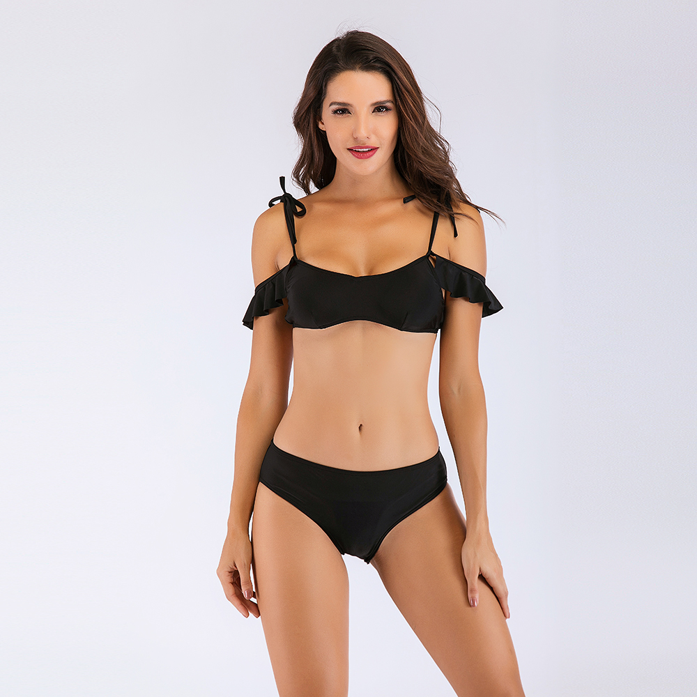 POKEEK china swimwear factory directly Wholesale and customize High Quality Women Sexy Bikini cheap price 2019 newst hot bikini