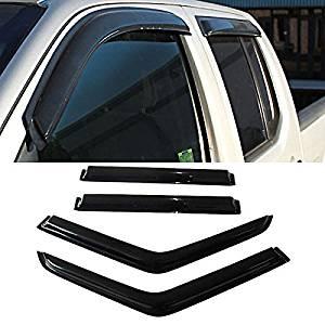 Fit 97-03 F150 97-99 F250 Light Duty Super//Extended Cab Vent Shade Window Visor