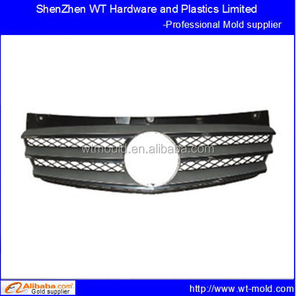custom Frame Grille radiator Outer injection moulding for cars