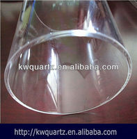 fused silica glass tube fire polish for sale