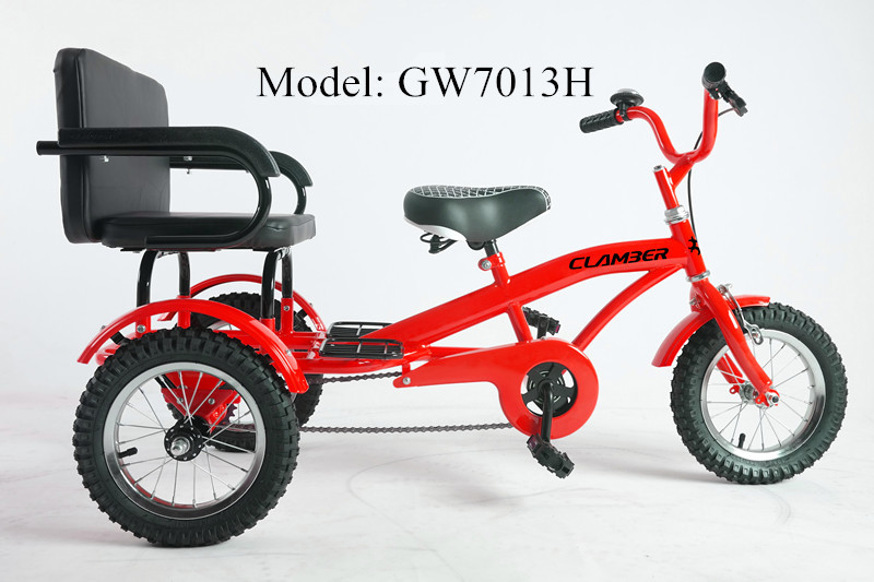 kid ride on trike toy 2 seater tricycle gw7013h 16 buy two seats kids tricycle cheap kids. Black Bedroom Furniture Sets. Home Design Ideas