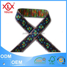 Customized woven fabric ribbons factory