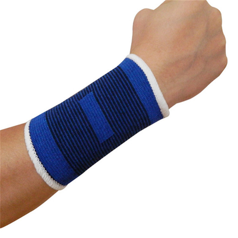 Security & Protection 2017 New Fitness Bracer Sports Wristband Sweat Wristband Yoga Workout Tennis Squash Badminton Gym Sports Safety Wrist Support