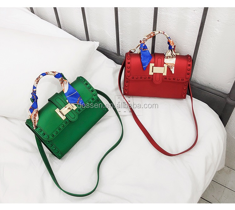 2019 Young Girl 싼 Jelly 백 China Jelly 패션 Bag