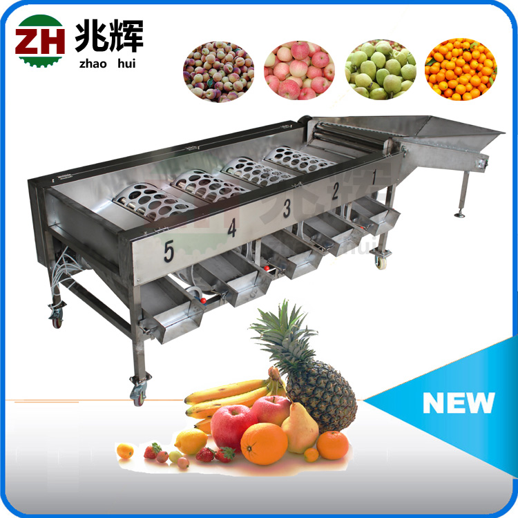 Stainless steel Potato tomato sorter/Stem Vegetable sorting machine/ fruit grading machine