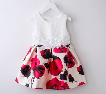 flower baby girl dress softtextile 2014 baby frock designs