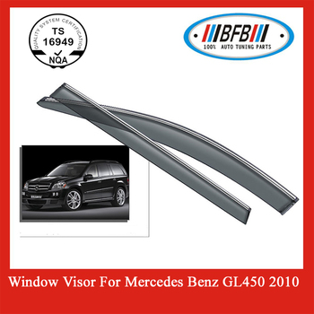 For mercedes benz door visors window visors gl450 buy for Mercedes benz sprinter sun visor