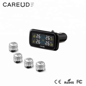 external tyre pressure monitor system tpms for cars ,cigarette plug 100 psi tpms