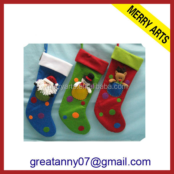 2016 New Design Felt Christmas Stocking Bucilla Christmas