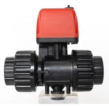 "Anti-corrosion PPO DN25 G 1 ""DC6V12V24V Control 2 ways Plastic 볼 Motor Drive Actuator 전기 <span class=keywords><strong>자동</strong></span> Control <span class=keywords><strong>밸브</strong></span>"